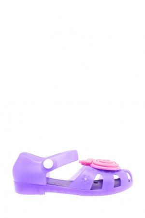 Синие пляжные сандалии Mursu. Цвет: фиолетовый