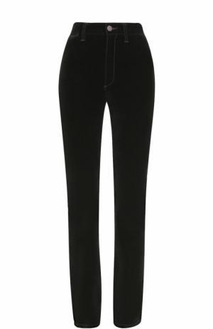 Однотонные брюки с завышенной талией Marc Jacobs. Цвет: черный