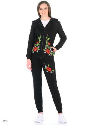 Спортивный костюм, модель Анна Dorothy's Нome. Цвет: черный, зеленый, красный