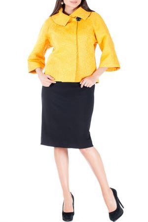 Жакет-платье Mannon. Цвет: желтый