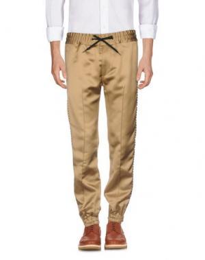 Повседневные брюки MARC JACOBS. Цвет: верблюжий