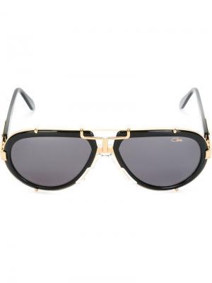 Солнцезащитные очки Vintage 642 Cazal. Цвет: чёрный