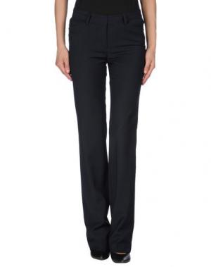 Повседневные брюки EIGHTH SIN. Цвет: темно-синий