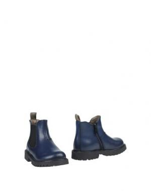 Полусапоги и высокие ботинки GUSELLA. Цвет: темно-синий