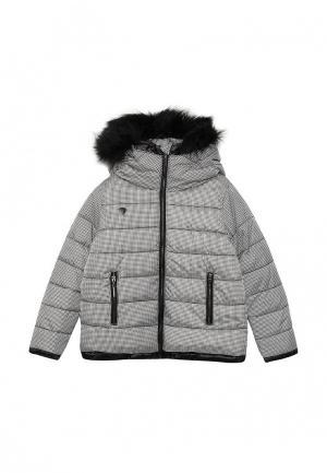 Куртка утепленная Gulliver. Цвет: серый