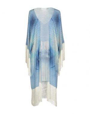 Легкое пальто ATHENA PROCOPIOU. Цвет: синий