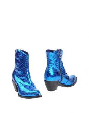 Полусапоги и высокие ботинки GIANCARLO PAOLI. Цвет: ярко-синий