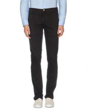 Повседневные брюки JAGGY. Цвет: темно-коричневый