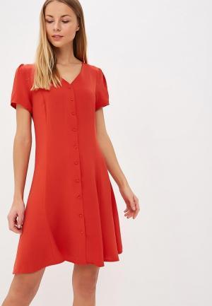 Платье Ichi. Цвет: красный