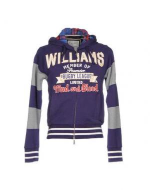 Толстовка WILLIAMS WILSON. Цвет: фиолетовый