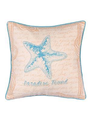 Чехол для декоративной подушки  Морская стихия Apolena. Цвет: голубой