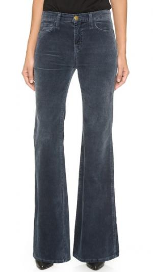 Расклешенные брюки Girl Crush Current/Elliott. Цвет: синевато-серый
