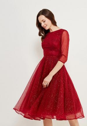 Платье Isabel Garcia. Цвет: бордовый