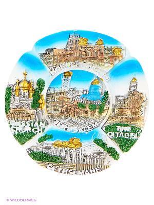 Магнит Христианские святыни Израиля 3D Bethlehem Star. Цвет: зеленый