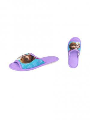 Тапочки De Fonseca. Цвет: лазурный, фиолетовый