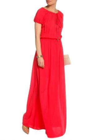 Платье Mix Ray. Цвет: коралловый