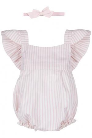 Комплект Розовая полоска SASHA Petit Gâteau. Цвет: multicolor