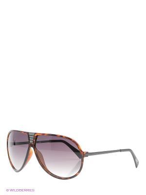 Солнцезащитные очки Mario Rossi. Цвет: коричневый