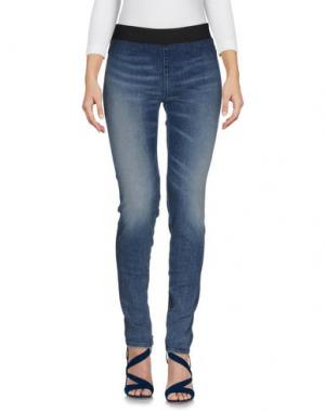 Джинсовые брюки FRANKLIN & MARSHALL. Цвет: синий
