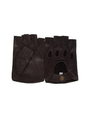 Перчатки PerstGloves. Цвет: темно-коричневый