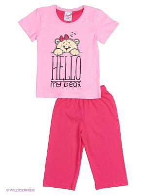 Комплект Vienetta Secret. Цвет: розовый, малиновый