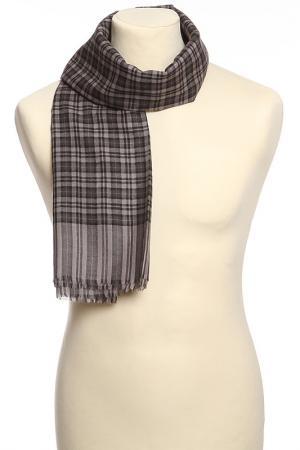 Платок Christian Dior. Цвет: серый, черный