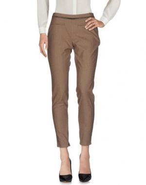 Повседневные брюки GUSTAV. Цвет: голубиный серый