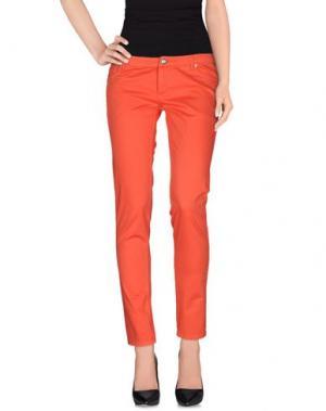 Повседневные брюки DEKKER. Цвет: красный