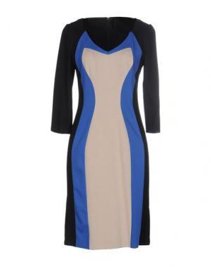 Короткое платье NINE. Цвет: черный