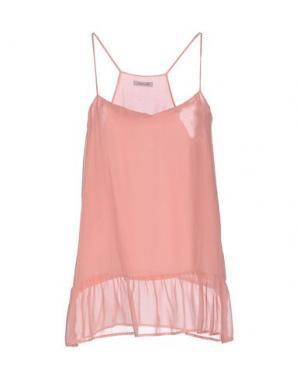 Топ без рукавов EMMA COOK. Цвет: розовый