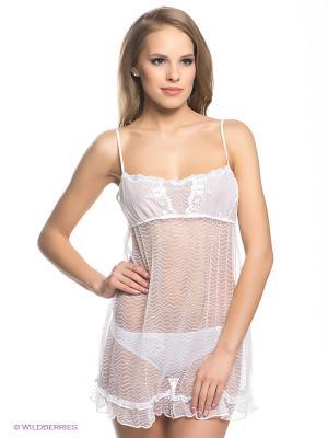 Ночная сорочка ARDI. Цвет: белый