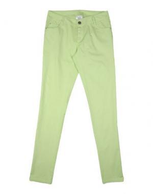 Повседневные брюки ILLUDIA. Цвет: кислотно-зеленый