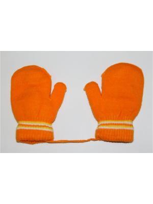 Варежки Cascatto. Цвет: оранжевый