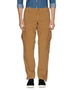 Повседневные брюки RRD. Цвет: верблюжий
