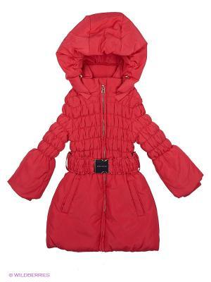 Пальто MES AMI. Цвет: красный