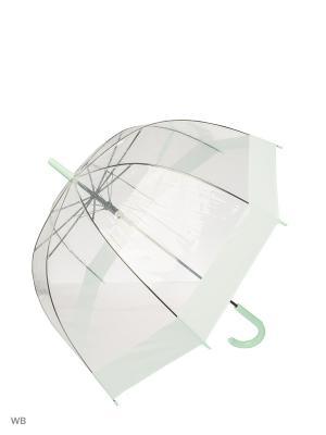 Зонт Modis. Цвет: прозрачный, бирюзовый