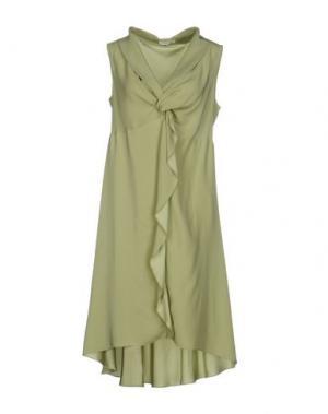 Короткое платье GOSSIP. Цвет: светло-зеленый