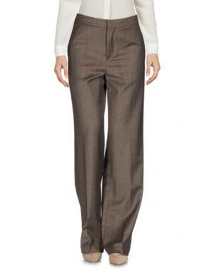 Повседневные брюки ELEVENTY. Цвет: хаки