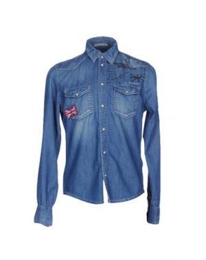 Джинсовая рубашка PEPE JEANS 73. Цвет: синий