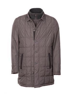 Куртка DKNY. Цвет: серый