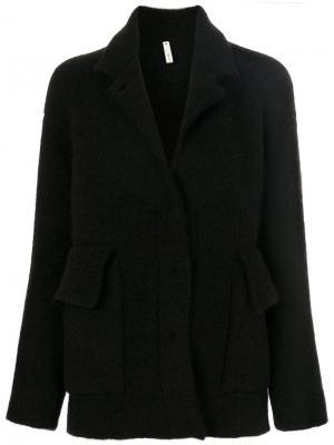 Свободный пиджак Boboutic. Цвет: коричневый