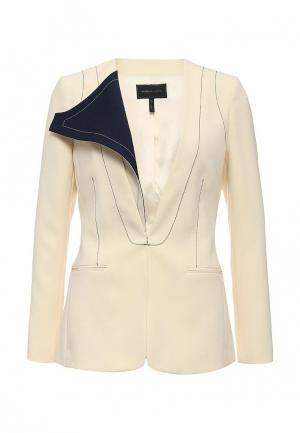Куртка BCBGMAXAZRIA. Цвет: бежевый