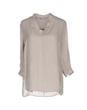 Блузка CALIBAN. Цвет: голубиный серый