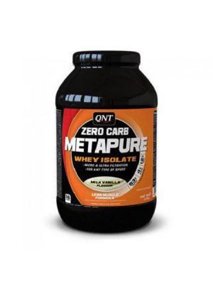 Протеин QNT Metapere Zero Carb (молоко-ваниль) 1 кг. Цвет: черный