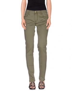Джинсовые брюки MONKEE GENES. Цвет: зеленый-милитари