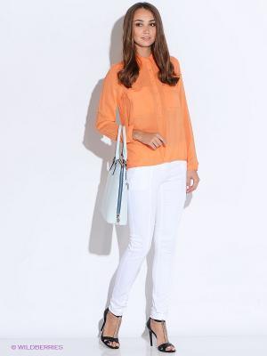 Блузка Salsa. Цвет: оранжевый