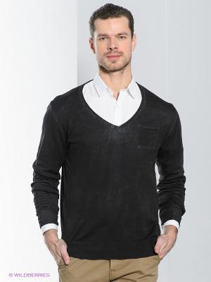 Пуловер Alcott. Цвет: антрацитовый
