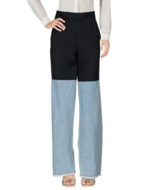 Повседневные брюки EACH X OTHER. Цвет: черный