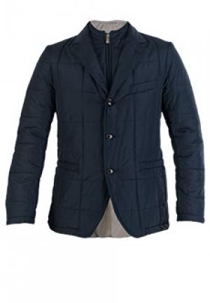 Куртка TOMBOLINI. Цвет: синий