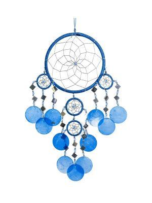 Ловушка снов M (о. Бали) Decor & gift. Цвет: синий